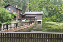 Das Naturfreundehaus an den Hofmannnteichen