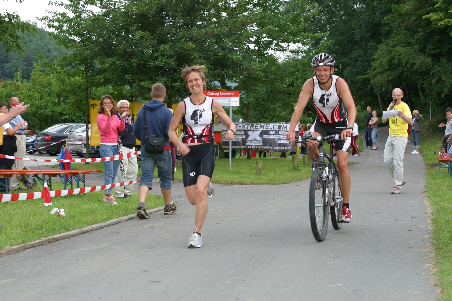 2 huk coburg run and bike team marathon 2007 coburg. Black Bedroom Furniture Sets. Home Design Ideas