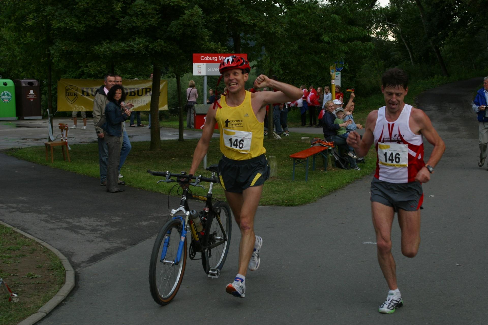 3 huk coburg run and bike team marathon 2008 coburg. Black Bedroom Furniture Sets. Home Design Ideas